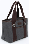 Sachi Grey Lunch Tote