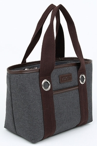 Sachi Grey Lunch Tote - Click to enlarge