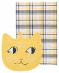 Set of 2 Cat Pocket Pals Kitchen Set