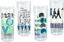 Set of 4 Beatles Glasses