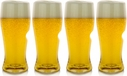 Set of 4 Go Vino Beer Glasses