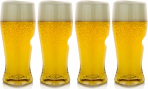 Set of 4 Go Vino Beer Glasses - Click to enlarge