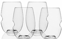 Set of 4 GoVino 16 oz Wine Glasses - Dishwasher Safe