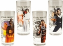 Set of 4 Star Wars Glasses