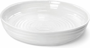 "Sophie Conran for Portmeirion: White 11"" Round Roasting Dish - Click to enlarge"