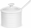 "Sophie Conran for Portmeirion: White 4.5"" Conserve Pot with Spoon"
