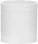 "Sophie Conran for Portmeirion: White 7.5"" Oval Utensil Jar"