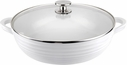 "Sophie Conran for Portmeirion: White Nonstick 12"" Shallow Casserole"