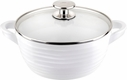 "Sophie Conran for Portmeirion: White Nonstick 8"" Medium Casserole"