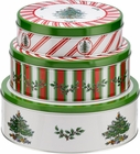 Spode Christmas Tree Set of 3 Nesting Cake Tins