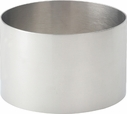 "Stainless Steel 3.5"" Food Ring"
