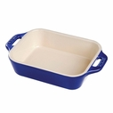 "Staub 7.5"" x 10.5"" Rectangular Baking Dish"