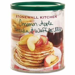Stonewall Kitchen 16 oz. Cinnamon Apple Pancake & Waffle Mix - Click to enlarge