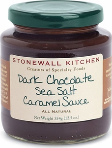 Stonewall Kitchen Dark Chocolate Sea Salt Caramel Sauce - Click to enlarge