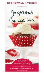 Stonewall Kitchen Gingerbread Cupcake Mix - Click to enlarge