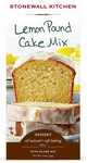Stonewall Kitchen Lemon Pound Cake Mix with Glaze