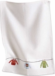 Sweater Party Embroidered Waffle Weave Dish Towel