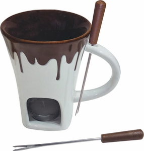 Swissmar Nostalgia Chocolate Fondue Set - Click to enlarge