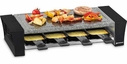 Swissmar Ticino Rectangular Raclette for 8 with Granite Stone