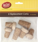 Tablecraft Set of 6 Assorted Replacement Corks