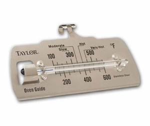 Taylor Thermometers Classic Oven Guide - Click to enlarge