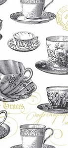 Teacups Kitchen Towel - Click to enlarge