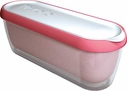 Tovolo Strawberry Glide-A-Scoop Ice Cream Tub