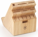 Victorinox 13 Slot Swivel Wood Knife Block