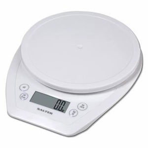 White Aquatronic Food Scale - Click to enlarge