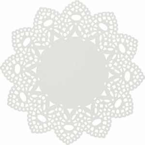 White Doily Trivet - Click to enlarge