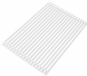 Over the Sink Roll-Up Drying Rack White