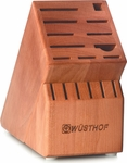 Wusthof 17 Slot Cherry Knife Block