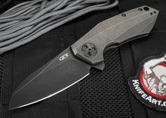 "Zero Tolerance ZT 0456BW Sinkevich Design Flipper 3.25"" Blackwashed CPM-20CV"
