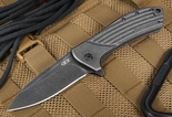 Zero Tolerance 0801 BW Todd Rexford Design Folding Knife