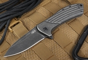 Zero Tolerance 0801BW Blackwash - Todd Rexford Design - Flipper