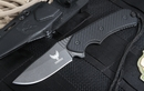Freeman 451 Black Fixed Blade