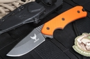 Freeman 451 Orange Fixed Blade Knife