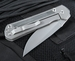 Chris Reeve Large Sebenza 21 - Micarta Inlay Folding Knife