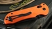 Benchmade 915SBK ORG Triage Serrated Folding Knife