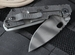 Exclusive Strider SNG Arctic Grey and Tiger Stripes Folding Knife - SOLD