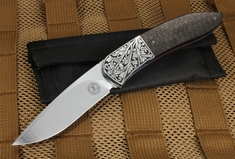Andre Thorburn Scroll Engraved Elegant Folder