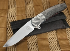 Andre Thorburn L42 Zirconium and Lightning Strike Flipper Folder