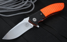 Andre Thorburn L42 Rescue Orange and Black Flipper Folder