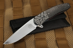 Andre Thorburn Black on Black Zirconium Flipper Folder