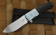 Andre Thorburn Art Deco Flipper Folding Knife