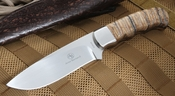 Arno Bernard Mammoth Tooth Hunting Knife - 3