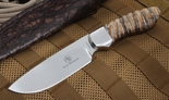 Arno Bernard Mammoth Tooth Hunting Knife - 4