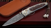 William Henry B10 Summer Rain Gold Koftgari and Damascus