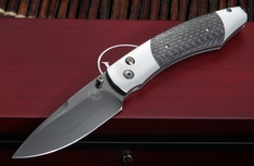 William Henry B12 Sable Spearpoint - Carbon Fiber Folding Knife