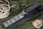 Strider BD GG Dive Tool Black Tiger Stripes Fixed Blade